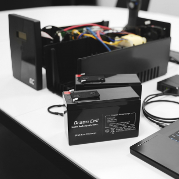 Akumulator bezobsługowy AGM VRLA Green Cell 12V 18Ah do łodzi i instalacji fotowoltaicznych