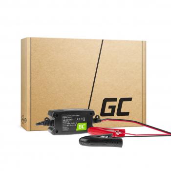 Ładowarka, Prostownik Green Cell do akumulatorów 6V / 12V (1.5A)