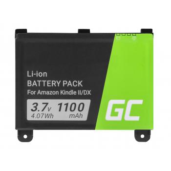 Bateria Green Cell 170-1012-00 DR-A011 do czytnika e-book Amazon Kindle 2 II DX D00511 D00611 D00701 D00801 Wi-Fi, 1100mAh