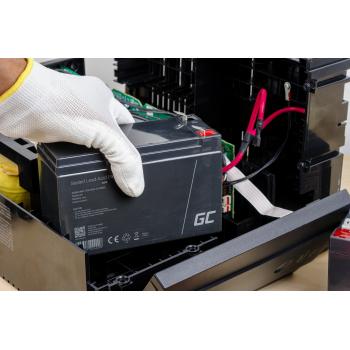 Green Cell AGM VRLA 12V 4Ah bezobsługowy akumulator do zasilaczy awaryjnych UPS zabawki kasy wagi