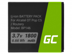 Bateria Green Cell TLIB5AF do Alcatel One Touch Pop C5 / X Pop / Router Link Zone 4G LTE / MW40 / Airbox LTE