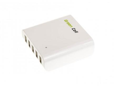 Multi ładowarka USB MUSB01 Green Cell 5 portów USB