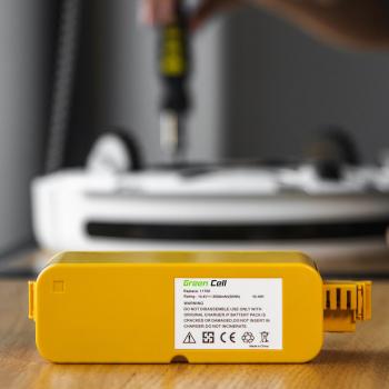 Bateria Akumulator (3.3Ah 14.4V) 80501 do iRobot Roomba 500 510 530 550 560 570 580 600 620 625 630 650 700 760 780 800 870 880