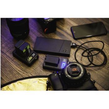 Akumulator Bateria Green Cell ® LP-E8 LPE8 do Canon EOS 550D 600D 650D 700D Kiss X4 X5 X6 Rebel T2i T4i Full Decoded 7.4V 750mAh
