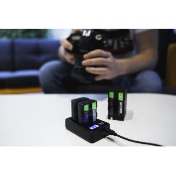 Bateria NB-2L / NB-2LH i Ładowarka CB-2LW Green Cell ® do Canon PowerShot G7 G9 S70 S80 R100 R11 Canon Elura 85 90 7.4V 700mAh