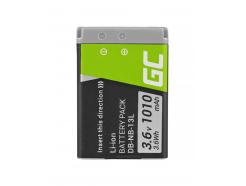 Akumulator Bateria Green Cell ® NB-13L do Canon PowerShot G1 G5 G7 G9 X Mark II SX620 HS SX720, Full Decoded 3.6V 1050mAh