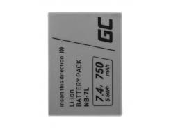 Akumulator Bateria Green Cell ® NB-7L NB7L do Canon PowerShot SX30 IS G10 G11 G12, Full Decoded, 7.4V 750mAh