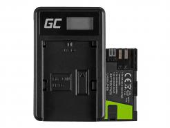 Bateria LP-E6 i Ładowarka LC-E6 Green Cell ® do Canon EOS 70D, 5D Mark II/ III, 80D, 7D Mark II, 60D, 6D, 7D 7.4V 1600mAh