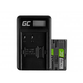 Bateria BP-511 i Ładowarka CB-5L Green Cell ® do Canon EOS 5D, 10D, 20D, 30D, 50D, D30, 300D, PowerShot G1, G2 7.4V1600mAh