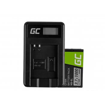 Bateria NB-6L/6LH i Ładowarka CB-2LY Green Cell ® do Canon PowerShot SX510 HS, SX520 HS, SX530 HS, SX600 HS 3.7V 1000mAh