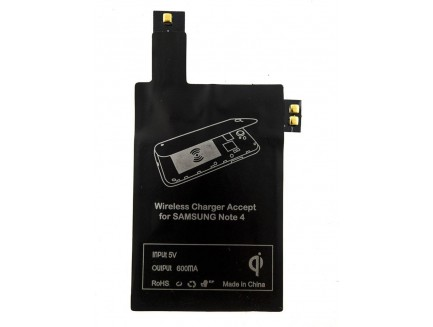 Adapter QI08 do Samsung Note 4