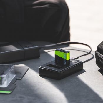 Ładowarka CBC-E5, LC-E5 Green Cell ® do Canon LP-E5, EOS 450D 600D 1000D Kiss F X2 X3 Rebel T1i XS Xsi (8.4V 5W 0.6A)