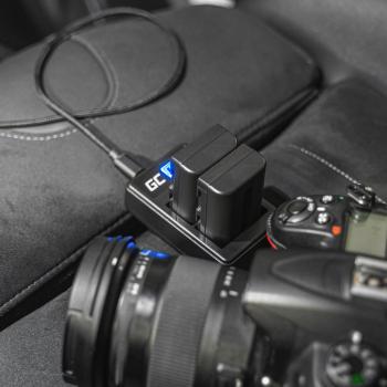 Ładowarka MH-25 Green Cell ® do Nikon EN-EL15, MB 1V1 D850 D810 D810A D800 D800E D750 D7000 D7500 D7200 D7100 D610 D600
