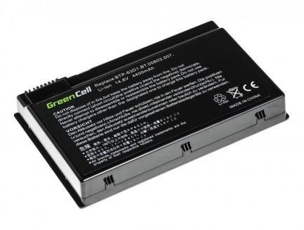 Bateria Green Cell BTP-98H1 BTP-63D1 do Acer Aspire 3020 3610 TravelMate 2410 4400 C300