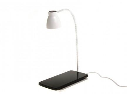 Ładowarka Bezprzewodowa Indukcyjna QI z lampką nocną LED