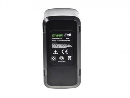Bateria Akumulator Green Cell do Bosch 26156801 BAT015 GSR GSB PSR Skil 3610K 3612 3615K 3650K 3650 14.4V 3Ah