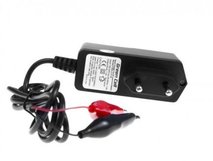 Ładowarka do Akumulatorów AGM, Żelowych i Kwasowo-Ołowiowych (6V, 1A)