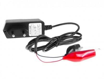 Ładowarka do Akumulatorów AGM, Żelowych i Kwasowo-Ołowiowych (12V, 0.3A)