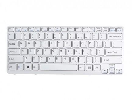 Klawiatura do Laptopa Sony Vaio SVE14 Biała