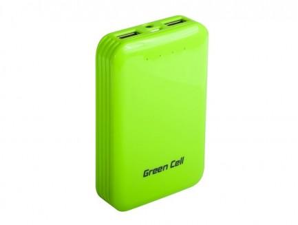 Power Bank Green Cell 6200 mAh