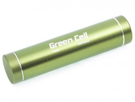 Power Bank Green Cell 2600mAh