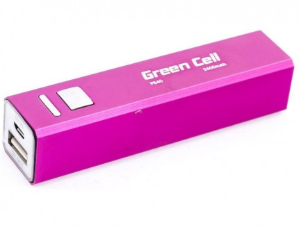 Power Bank Green Cell 2600mAh