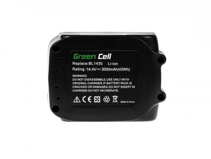 Bateria Akumulator Green Cell do Makita BL1415 BL1430 14.4V 3Ah