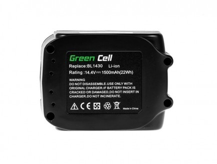 Bateria Akumulator Green Cell do Makita BL1415 BL1430 14.4V 1.5Ah
