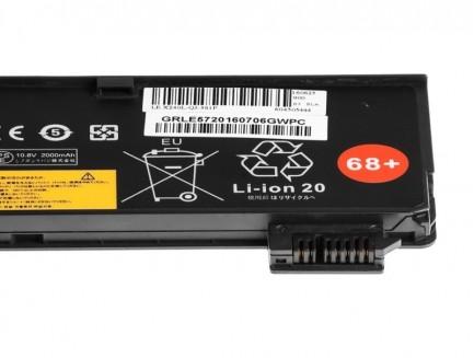 Bateria Green Cell do Laptopa Lenovo ThinkPad L450 T440 T440s T450 T450s T550 X240 X240s X250