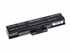 Bateria Green Cell VGP-BPS13 VGP-BPL13 do Sony Vaio VGP-BPS13A/S 11.1V 6 cell CZARNA