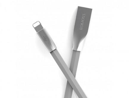 Kabel Przewód Romoss 2w1 micro-USB / Lightning 1m