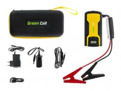 Power Bank Green Cell CAR JUMP STARTER 11100mAh z funkcją rozruchu pojazdów + klemy