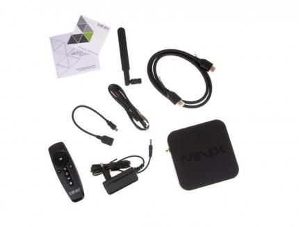 Zestaw TV Box Minix Neo U1 + Bezprzewodowa klawiatura NEO A2 Lite