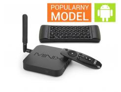 Zestaw Minix Neo U1 Smart TV Android Box + Air Mouse NEO A2 Lite