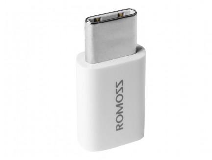 Adapter Romoss USB Typ-C - MicroUSB