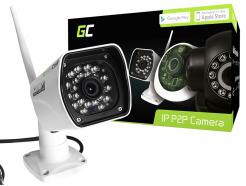 Kamera IP Green Cell Zewnętrzna WI-FI Full HD 1080P 8GB ICAM-1001