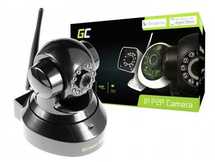 Kamera IP Green Cell Wewnętrzna WI-FI HD 720P ONVIF ICAM-601