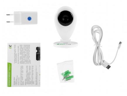 Kamera IP Green Cell Wewnętrzna WI-FI HD 720P ONVIF ICAM-611