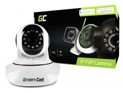Kamera IP Green Cell Wewnętrzna WI-FI HD 720P ONVIF ICAM-606