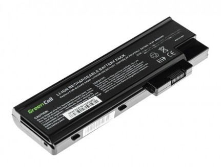 Bateria akumulator Green Cell do laptopa Acer Aspire 1650 3508 3509 3630 3660 Travelmate 4500 BTP-BCA1 14.4V 8 cell