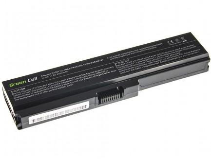 Bateria Green Cell PA3817U-1BRS PA3634U-1BRS do Toshiba Satellite U500 L750 A650 C650 C655 10.8V 6 cell