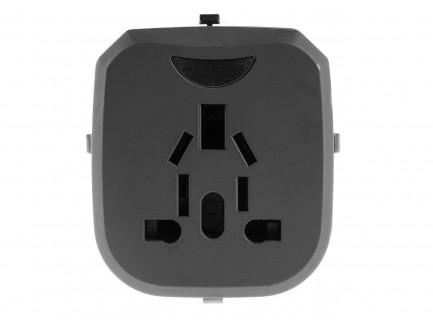 Adapter Przejściówka do Gniazdka Elektrycznego Green Cell ® Uniwersalny z Dwoma Portami USB