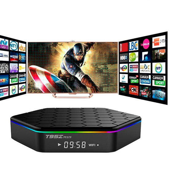 płynne wideo android box