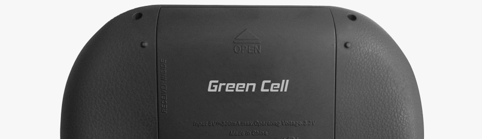fa27a3be0e580 Bezdrôtová podsvietená klávesnica Green Cell ® s Touchpadom ...