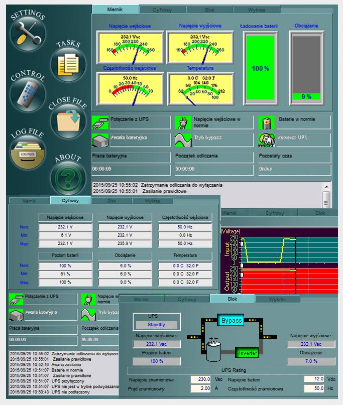 oprogramowanie UPS Green Cell