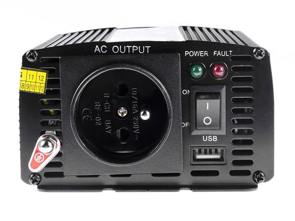 Przetwornica samochodowa napięcia 24V do 230V 300W 600W