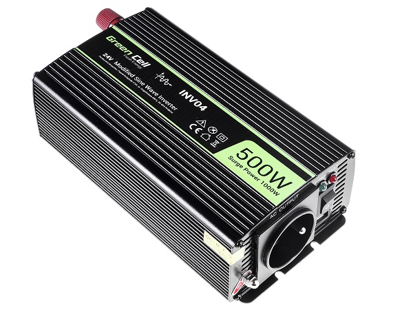 Przetwornica samochodowa napięcia 24V do 230V 500W 1000W