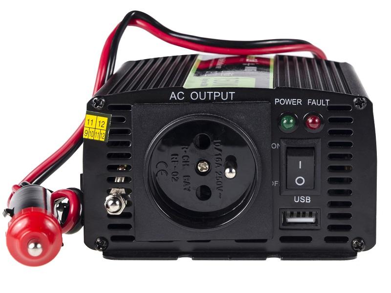 Przetwornica samochodowa napięcia 12V do 230V 150W 300W