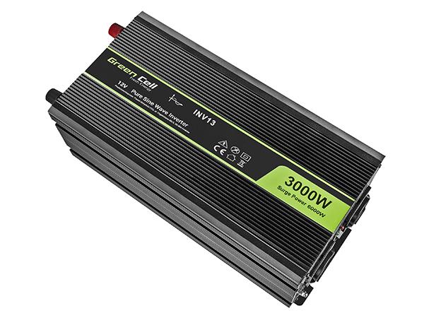 Przetwornica samochodowa napięcia 12V do 230V 3000W 6000W pełna sinusoida