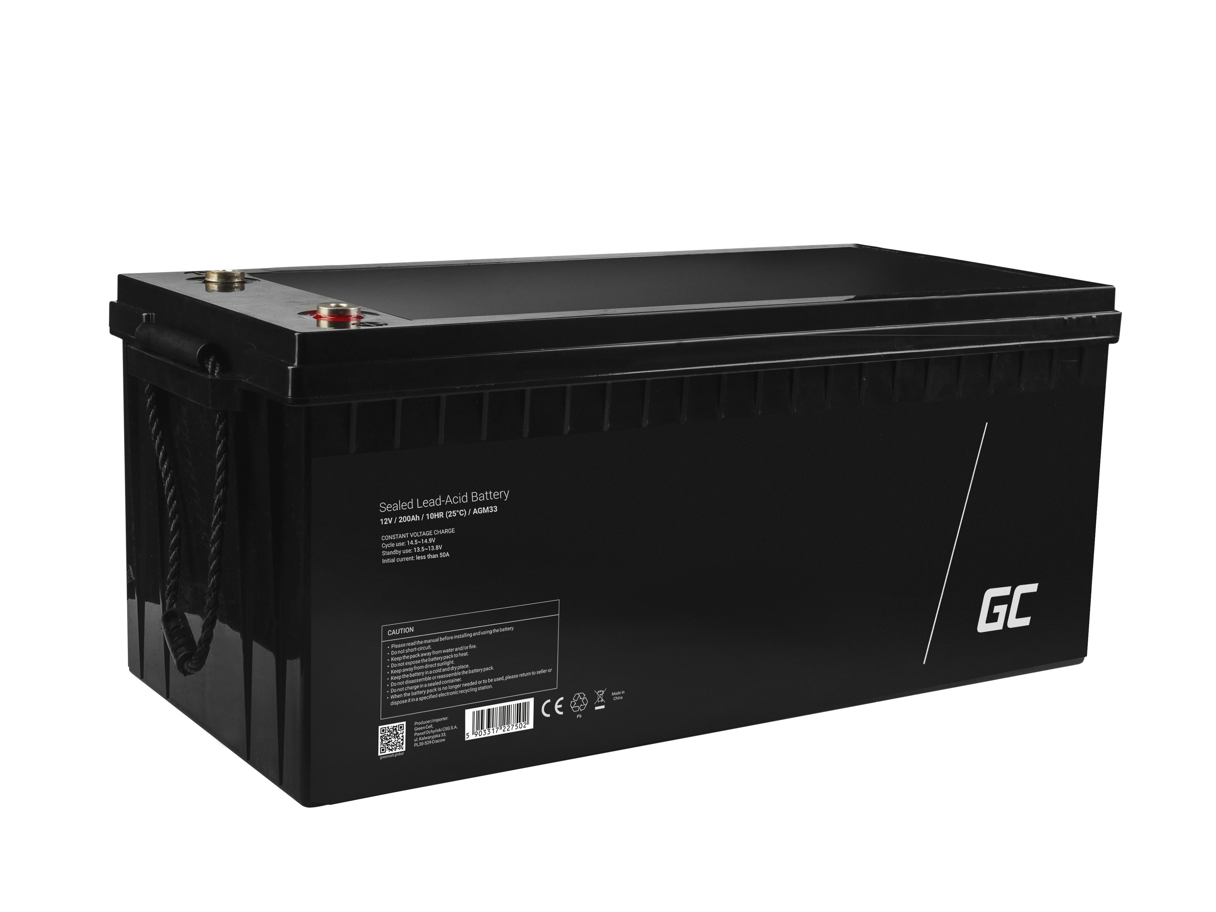 Green Cell AGM0 12V 200Ah